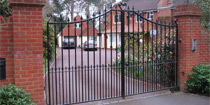 View Photos of Wrought Iron Gates