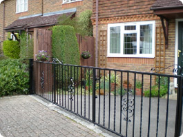 Folding Metal Gates Surrey